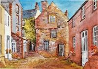Tudor Merchant's House, Tenby Print