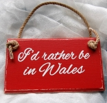 Wales Plaque