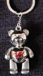 Welsh Jointed Teddy Bear Keyring