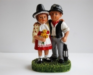 Welsh Lady and Miner Together