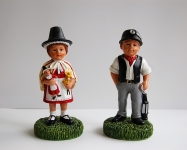 Welsh Lady and Miner