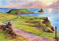 Worm's Head Gower Print