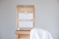 Abeille Cellular Blanket - White Tail