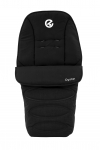 BabyStyle Oyster Footmuff in Ink Black