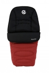 BabyStyle Oyster Footmuff in Tango Red