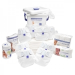 Bambino Mio MioSoft Premium Birth to Potty Pack (White)