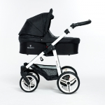 Venicci Black 3in1 Pram Travel System