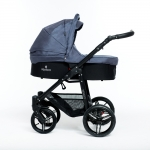 Venicci Graphite 3in1 Pram Travel System
