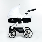 Venicci White 3in1 Pram Travel System