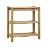 Corona 3 shelf bookcase