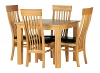 Kent Square Table & 4 Chairs Set