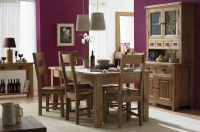 Rutland 1.8ext Dining Table & 6 chairs set