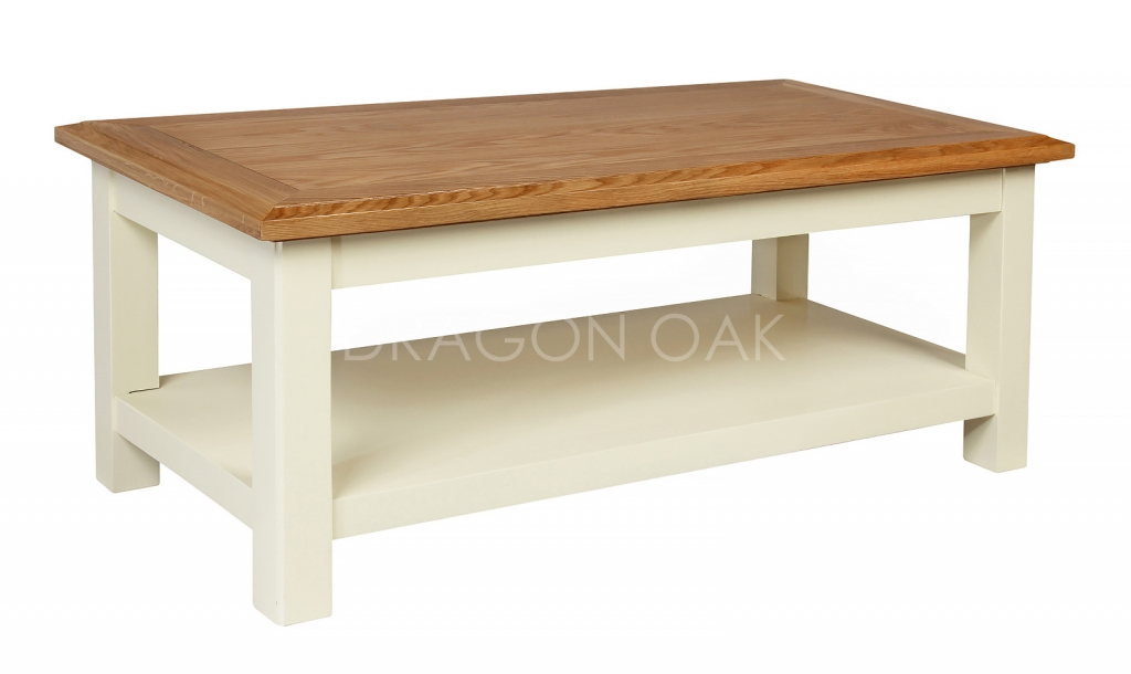 Country Cream Coffee Table