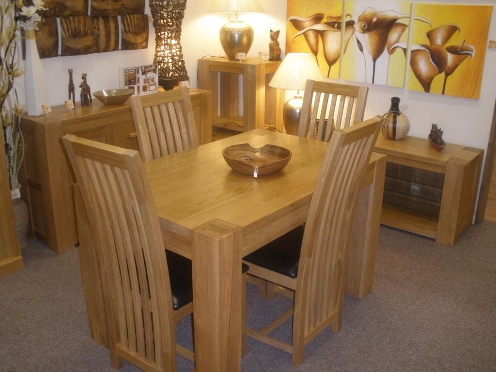 Toledo small dining table oak tables dragon