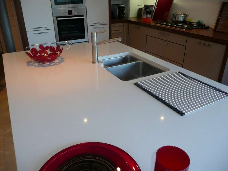 Royale Blanc Quartz Worktops Canterbury Stone And Marble