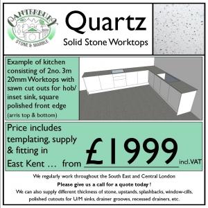 Affordable Quartz Worktops