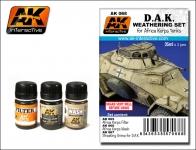 AK D.A.K.  WEATHERING SET #AK068