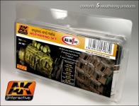 AK ENGINES AND METAL WEATHERING SET #AK087