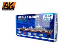 AK  ACYLIC COLORS FOR GERMAN WARSHIPS #559