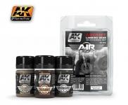 AK AIRCRAFT LANDING GEAR WEATHERING SET #AK2030