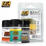 AK BASIC WEATHERING SET ##688