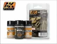 AK INTERACTIVE WOOD WEATHERING SET #AK260