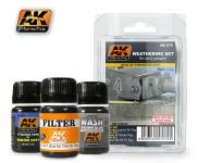 AK WEATHERING SET FOR EARLY PANZERS #AK072