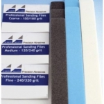 ALBION ALLOY PROFESIONAL QUALITY SANDING FILES 3 PC SETSET # 001