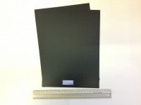 BLACK PLASTIC CARD 20