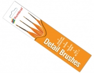 Humbrol Detail Brush Pack - AG4301