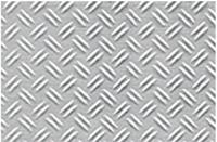 JTT PLASTIC DOUBLE DIAMOND PLATE  G-SCALE (1/24) #97452