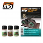 MIG-AMMO AIRPLANES DUST WEATHERING SET #A-MIG7421