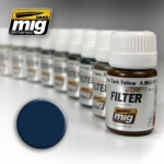 MIG AMMO BLUE FOR DARK GREY FILTER #MIG-1509