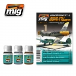 MIG-AMMO GERMAN EARLY FIGHTERS & BOMBERS WEATHERIN SET #7414