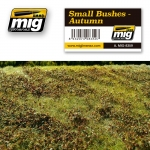 MIG-AMMO GRASS MAT SMALL BUSHES AUTUMN #8359