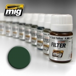 MIG AMMO GREEN FOR GREY GREEN FILTER #MIG1508