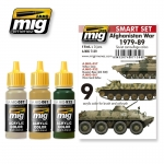 MIG-AMMO RUSSIAN AFGHAN WAR 1979-89 COLOURS #A-MIG7139