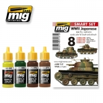 MIG-AMMO WWII JAPANESE COLOURS (EARLY) #A-MIG7137