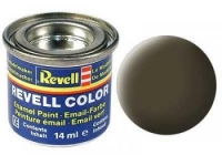 REVELL ENAMEL BLACK GREEN MATT 14ML (RV32140)