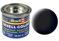 REVELL ENAMEL BLACK MATT 14ML (RV32108)