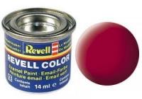 REVELL ENAMEL CARMINE RED MATT 14ML (RV32136)