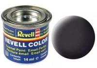 REVELL ENAMEL TAR BLACK MATT 14ML (RV32106)