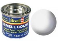 REVELL ENAMEL WHITE MATT 14ML (RV32105)