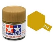 TAMIYA ACRLIC X-12 GOLD LEAF