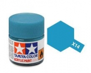 TAMIYA ACRLIC X-14 SKY BLUE