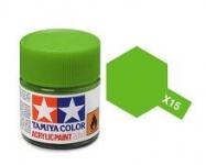 TAMIYA ACRLIC X-15 LIGHT GREEN