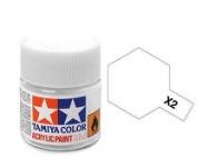 TAMIYA ACRLIC X-2 WHITE