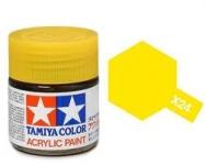 TAMIYA ACRLIC X-24 CLEAR YELLOW