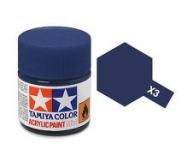 TAMIYA ACRLIC X-3 ROYAL BLUE