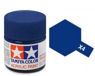 TAMIYA ACRLIC X-4 BLUE